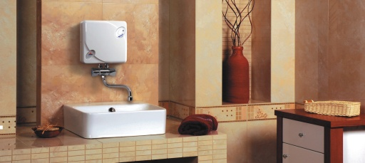 EPJ - 5,5 Optimus Radeco mosdó, mosogató vízmelegítő