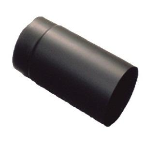 Füstcső egyenes 250 mm - fekete (150 mm) Wamsler