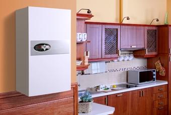 KOSPEL elektromos kazán EKCO.LN2 p 8kW 400V/230V padlófűtéses és falfűtéses + 6 literes beépített tartállyal