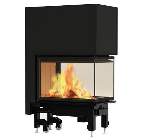 Edilkamin Windo3 P50 fatüzelésű zárt tűztér - kandallóbetét