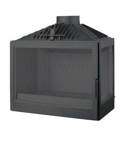 Liseo L7R Beépíthető kandallóbetét 10kw, két oldalán üveges