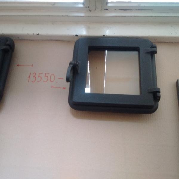 Wamsler öntvény cserépkályha ajtó üveggel / alkatrész