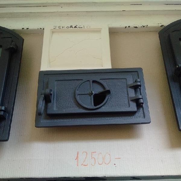Wamsler öntvény cserépkályha hamuzó ajtó / alkatrész